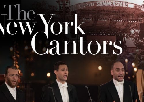 The NY Cantors perform live at SummerStage