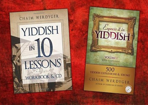 Yiddish in 10 Lessons. A Book/CD to learn Yiddish in a fun way