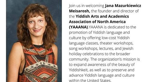 Yiddish arts and culture in the 21st century