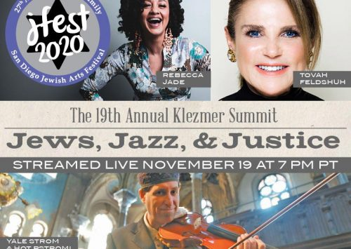 "Join us LIVE tonight for: ""The 19th Annual Klezmer Summit: Jews, Jazz, & Justice"""