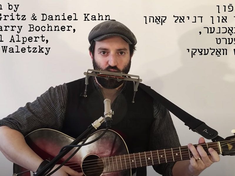 """""""This Land is Your Land"""" in Yiddish"""